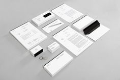 Lundgren+Lindqvist on Behance #identity #stationary