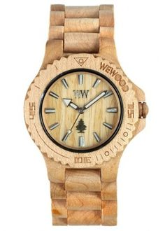 WeWood watches reuse old wood flooring and scraps... – Unconsumption #wewood #design #sustainabe #wood #industrial #time #watch #fashion #utility