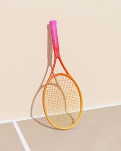 Tennis, from molistudio #surreal #minimalism #pastel #3D #graphic #sport
