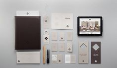 Identity by Manic | 123 Inspiration #corporate #brand #identity #branding