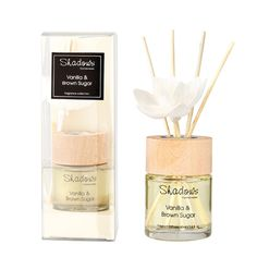 Fragrant Solar Flower Diffuser Vanilla & Brown Sugar, 40 ml