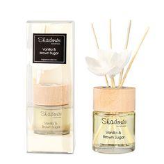 Fragrant Solar Flower Diffuser Vanilla & Brown Sugar, 40 ml