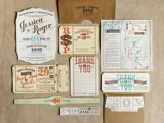 flourish letterpress www.mr cup.com #type #invitations #design #stationary