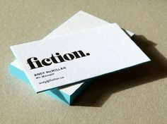 Fiction - Carli Dottore #fiction #letterpress #custom #typography