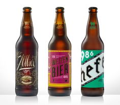 30 for 30 beer label design for Widmer Brother Brewing