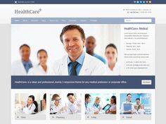 Medical and Health Joomla Template