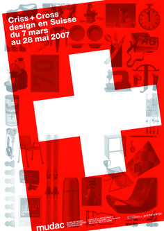 Flavia Cocchi — Mudac, museum design and contemporary applied arts  Lausanne (2007) #swiss #poster