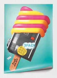 Funk am See 2010 #feixen #design #graphic #pfffli #poster #felix