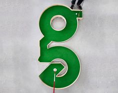 a typographic miniature golf course by ollie willis #golf