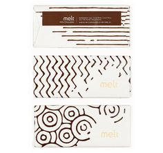 Melt chocolate packaging #melt #pattern #dairy #packaging #wrap #shapes #label #food #chocolate #wrapping #labelling #milk #taste #package