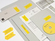 Graphic Design & Web Design Blog: Matjaz Cuk Visual Identity #identiity