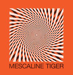 Logo idea for the Portland band Mescaline Tiger.