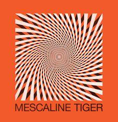 Logo idea for the Portland band Mescaline Tiger. #tag