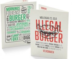 Art of the Menu: Illegal Burger #the #art #of #menu