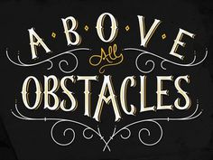 Obstacles #logo