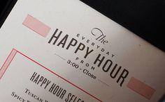 Palomino restaurant branding #menu #design #typography