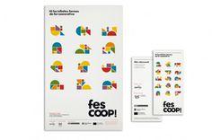 Esteve Padilla ➽ ohhh.ws #logo #shape #color #catalunya #fes coop #cooperative