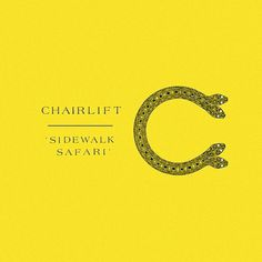 "Chairlift – ""Sidewalk Safari"" - Stereogum #cover #album"