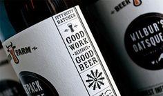 Beer Farm #packaging #beer #label #bottle