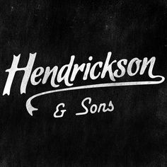 Kyle Miller Creative #hendrickson #sons #and