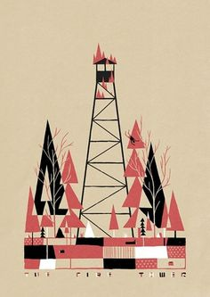 Luke Pearson | Illustration and Comics | Page 2 #illustration #luke pearson #the fire tower