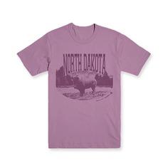 T-shirt Design #T-shirt #tshirt #shirtgraphic #band #vintage #animal #buffalo #north #dakota #illustration