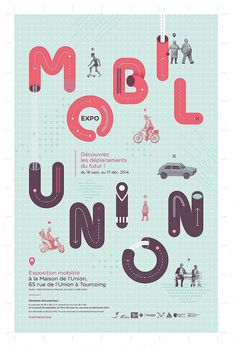 MobilUnion Exhibition Poster