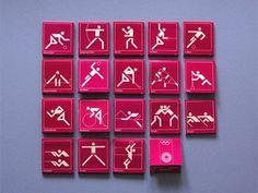 Otl Aicher 1972 Munich Olympics - Lighters Matchbooks and Matchboxes #otl #aicher