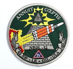 ANNUIT CEPTIS #missile #illuminati #military #patch #rocket
