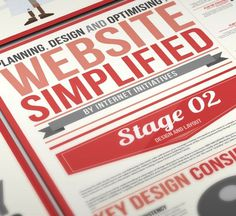 Website Simplified Infographic Design #infographic #design #web