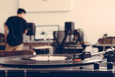Shigeto Studio #music #shigeto #turntable #studio