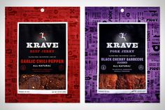 Krave Jerky #will #beef #jerky #ecke #packaging #design #food #sf #krave #hatch