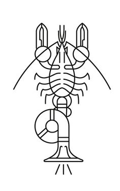 Trombostacean #icon #line #symbol #pictogram