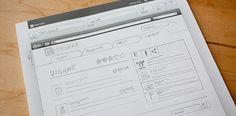 UI Stencils — Browser Sketch Pad #web #sketch #stencils