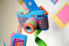 camera #sculpture #camera #color #details #paper