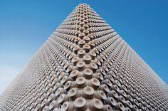 Noppenhalle, Zurich Baierbischofberger Architects #concrete #architecture #pattern