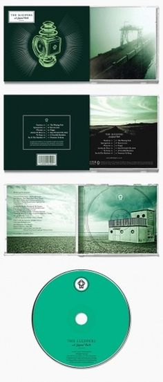 Looks like good Graphic Design by Adam Hill #packaging #print #design #music #green