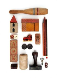 Things Organized Neatly #organized #wood #vintage