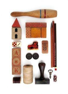 Things Organized Neatly #organized #wood #vintage