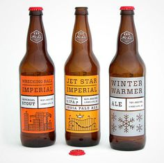 NoLi Imperial Series #graphic design #beer design