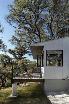 Home Office Addition: Creekbluff Studio by Matt Fajkus Architecture 8