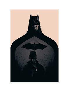 nevver: le Bat Cover for Batman Black and White #3.