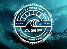 Association of Surfing Professionals #logo #identity #surf