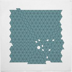 #426 Tectonic activity – A new minimal geometric composition each day