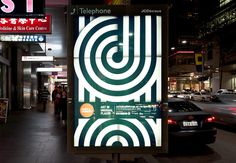::: Toko. Concept. Design. ::: #black #line #white #poster