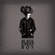 Black Sheep Boy Redesign on the Behance Network #album #ink #boy #black #illustration #pen #and #okkervil #sheep #river