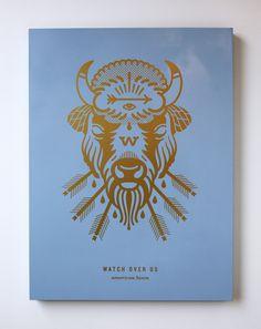 Buffalo1_1020 #arrows #buffalo