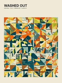 GigPosters.com - Washed Out #out #gig #washed #poster