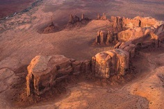 Sunset in the Monument Valley by Stas Bartnikas