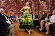 Color Art Show Fall-Winter 2012 for Christian Dior #flowers #s #art #show #fashion #raf #christian #dior